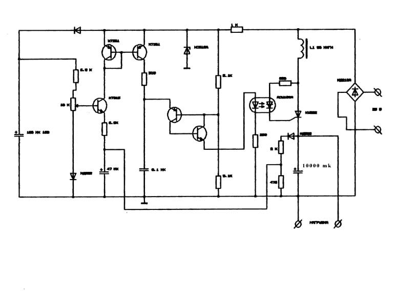 электронные схемы на тиристорах.